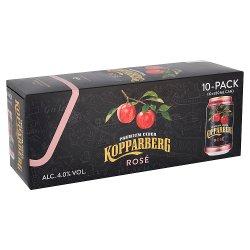Kopparberg Premium Cider Rosé 10 x 330ml