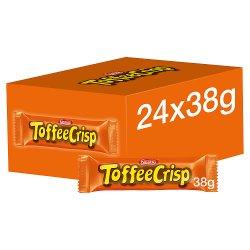 Toffee Crisp Milk Chocolate Bar 38g