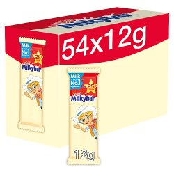 Milkybar White Chocolate Kid Bar 12g PMP 25p