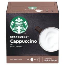 STARBUCKS by NESCAFÉ DOLCE GUSTO Cappuccino Coffee Pods, Box of 6+6, 120g