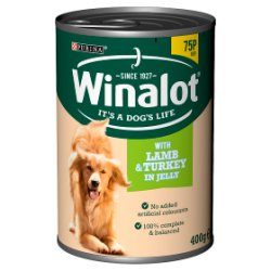 WINALOT Classics Tinned Dog Food Lamb in Jelly 400g