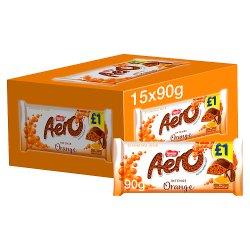 Aero Orange Chocolate Sharing Bar 90g PMP £1