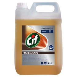 Cif Pro Formula Professional Wood Floor Cleaner 5L