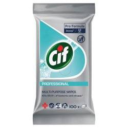 Cif Pro Formula Professional Multi-Purpose Wipes 100pcs
