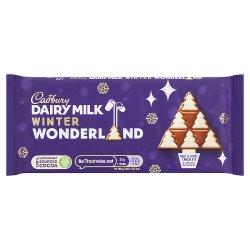 Cadbury Dairy Milk Winter Wonderland Edition Chocolate Bar 100g