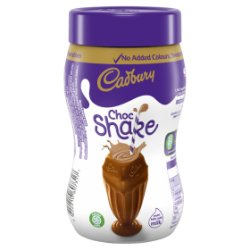 Cadbury Chocolate Milkshake Jar 280g