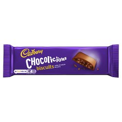 Cadbury Fabulous Fingers Chocolicious Biscuits 110g
