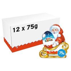 Kinder Surprise Chocolate Santa Figure 75g