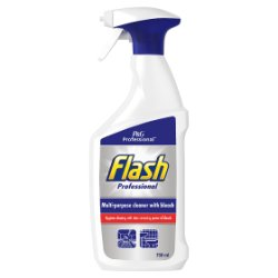 Flash Professional Multi-Purpose Cleaner With Bleach 750ML