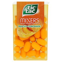 Tic Tac Mixers Peach Lemonade 18g