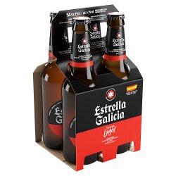 Estrella Galicia Premium Lager 4 x 33cl