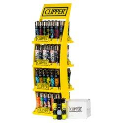 Clipper Printed Design 4 Tier Stand 96 + 8 FOC