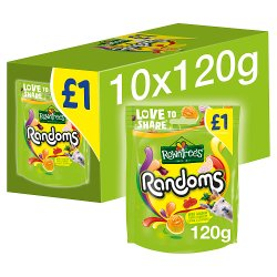 ROWNTREE'S Randoms Sweets Sharing Bag 120g £1
