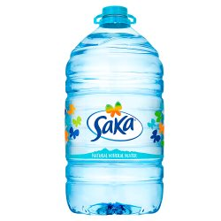 Saka Natural Mineral Water 5L