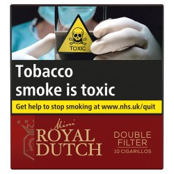 Royal Dutch Double Filter 10 Pack