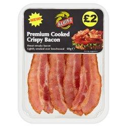 Saxon's Premium Cooked Crispy Bacon 60g