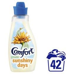 Comfort Sunshiny days Fabric Conditioner 42 Wash 1.5L