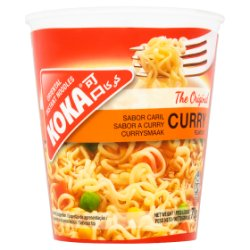 Koka Oriental Instant Noodles The Original Curry Flavour 70g