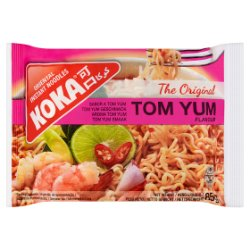 Koka The Original Tom Yum Flavour Oriental Instant Noodles 85g