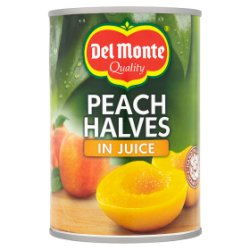 Del Monte Peach Halves in Juice 415g
