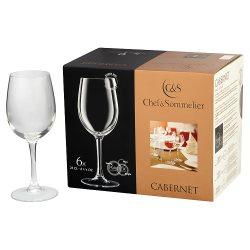 Chef & Sommelier Cabernet Wine Glasses 6 x 25cl