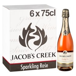 Jacob's Creek Sparkling Rosé Wine 6 x 75cl