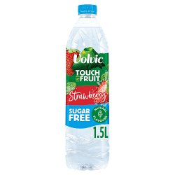 Volvic Touch of Fruit Sugar Free Strawberry Natural Flavour 1.5L