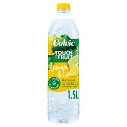 Volvic Touch of Fruit Low Sugar Lemon & Lime Natural Flavour 1.5L
