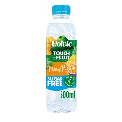 Volvic Touch of Fruit Sugar Free Special Edition Mango Passion Natural Flavoured Water 500ml