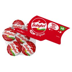 Babybel Mini Original Natural Cheese Snacks 6 x 20g (120g)