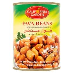 California Garden Premium Fava Beans in Brine 400g