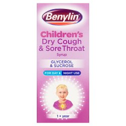 Benylin® Children's Dry Cough & Sore Throat Syrup 1+ Year 125ml