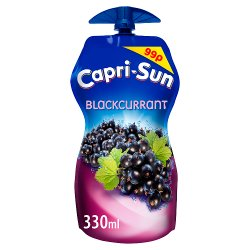 Capri-Sun Blackcurrant 330ml PMP 99p