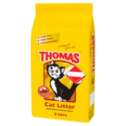THOMAS® Cat Litter 8L (MPP £3.99)