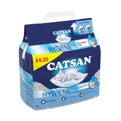 Catsan Hygiene Cat Litter 5L MPP £4.25