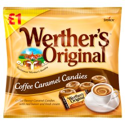 Werther's Original Coffee Caramel Candies 110g