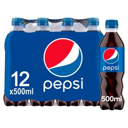 Pepsi Cola 12 x 500ml