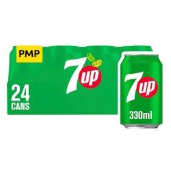 7UP Regular 24 x 330ml