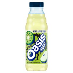 Oasis Sour Kiwi & Apple 500ml PMP £1.09 or 2 for £2