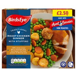 Birds Eye Traditional Roast Chicken Dinner with Stuffing 400g