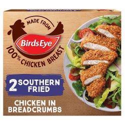 Birds Eye 2 Southern Fried Chicken in Breadcrumbs 180g
