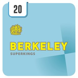 Berkeley Superkings 20 Cigarettes Track & Trace Compliant