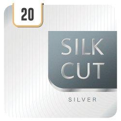 Silk Cut Silver 20 Cigarettes