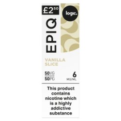 Logic Epiq Vanilla Slice 6mg/ml 50VG/50PG 10ml