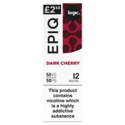 Logic Epiq Dark Cherry 12mg/ml 50VG/50PG 10ml