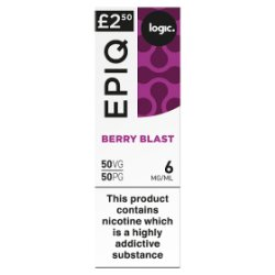 Logic Epiq Berry Blast 6mg/ml 50VG/50PG 10ml