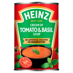 Heinz Cream of Tomato & Basil Soup 400g