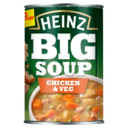 Heinz Big Soup Chicken & Veg 400g