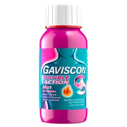 Gaviscon Double Action Mint Oral Suspension 150ml