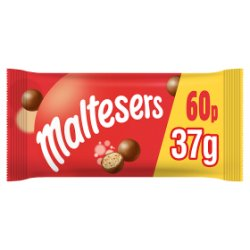 Maltesers Chocolate £0.60 PMP Bag 37g